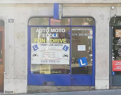 L'arcade de FUN DRIVE à la Rue de la Servette 45